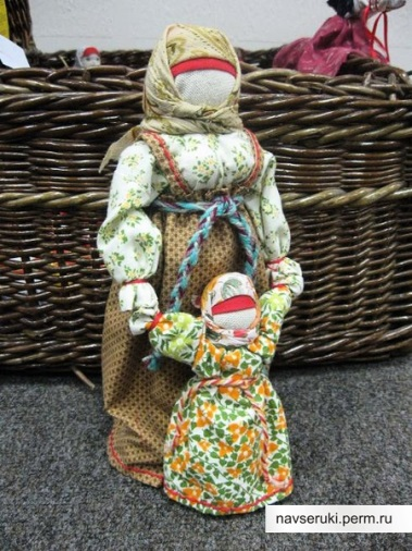 Как и из чего сделать народную куклу